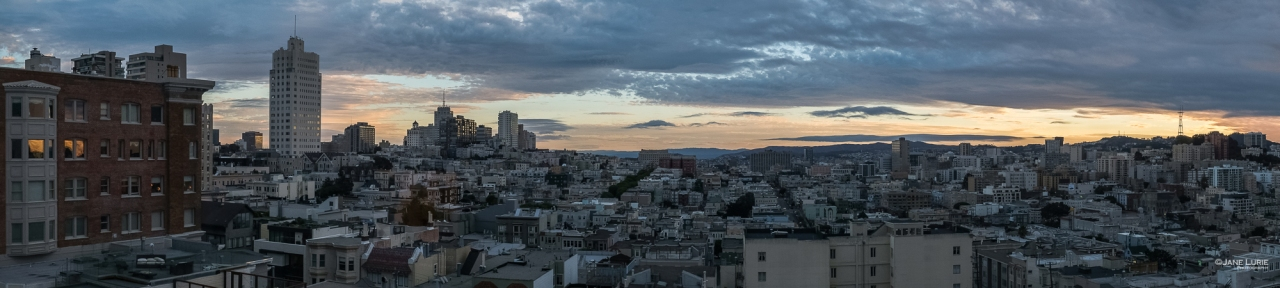 Panorama, Photography, Landscape, City, San Francisco, Golden Hour, Fujifilm X-T2