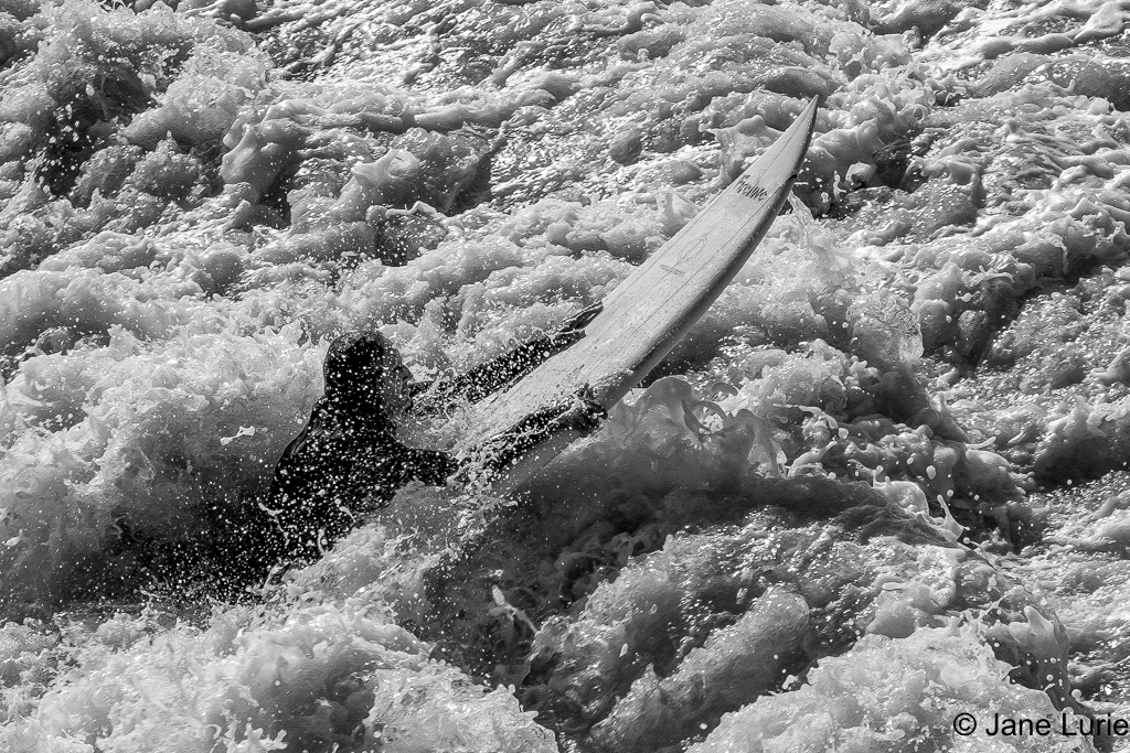 Monochrome, Black and White, Landscape, Surfer, Ocean, Nature, Water, Action, Photography, Wave, Portrait, California,