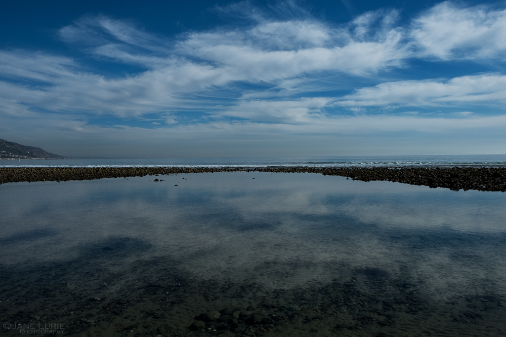 Photography, Landscape, California, Nature, Ocean, Clouds, Blue, Fujifilm X-T2, Beach, Reflection