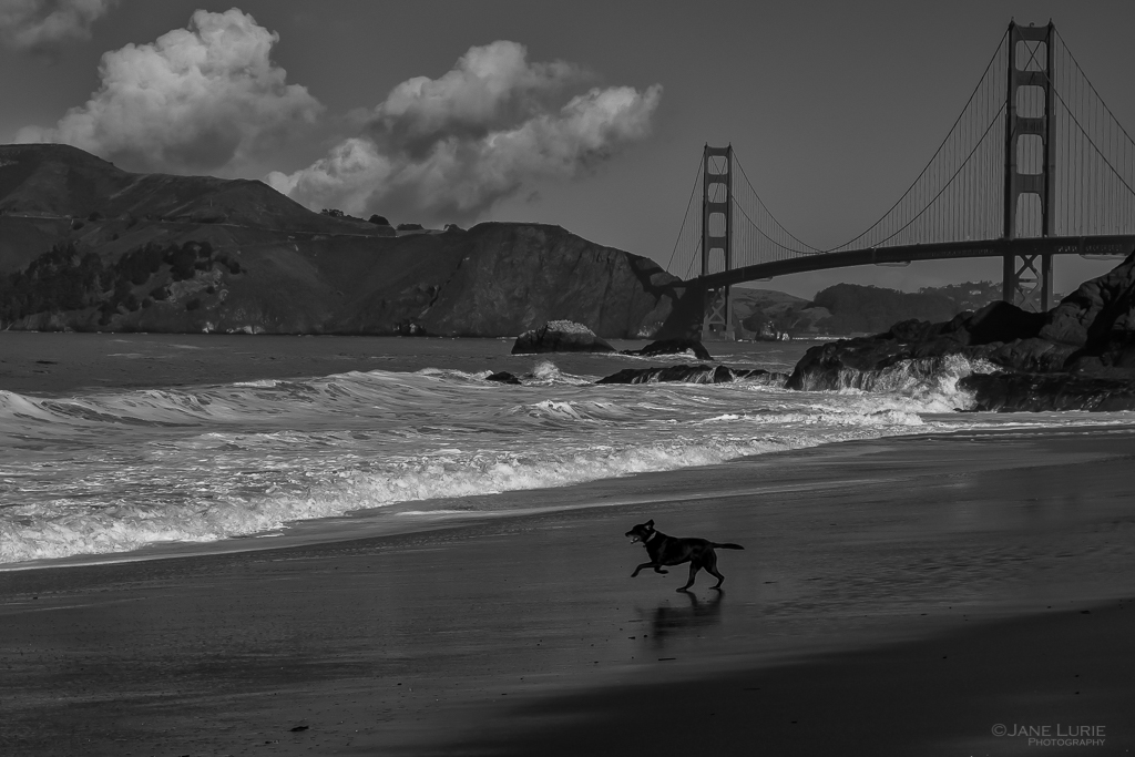 San Francisco, Landscape, Photography, Fujifilm X-T2, Waves, Ocean, Golden Gate Bridge, California, Beach, Nature, Action