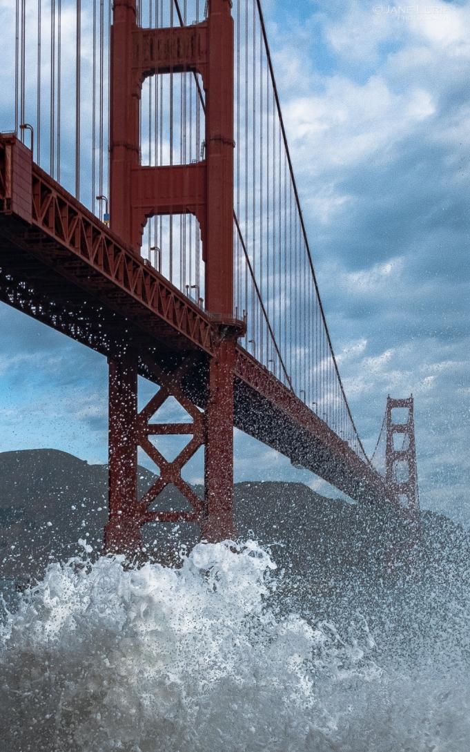 San Francisco, Landscape, Photography, Fujifilm X-T2, Waves, Ocean, Golden Gate Bridge, California, Beach, Nature, Action