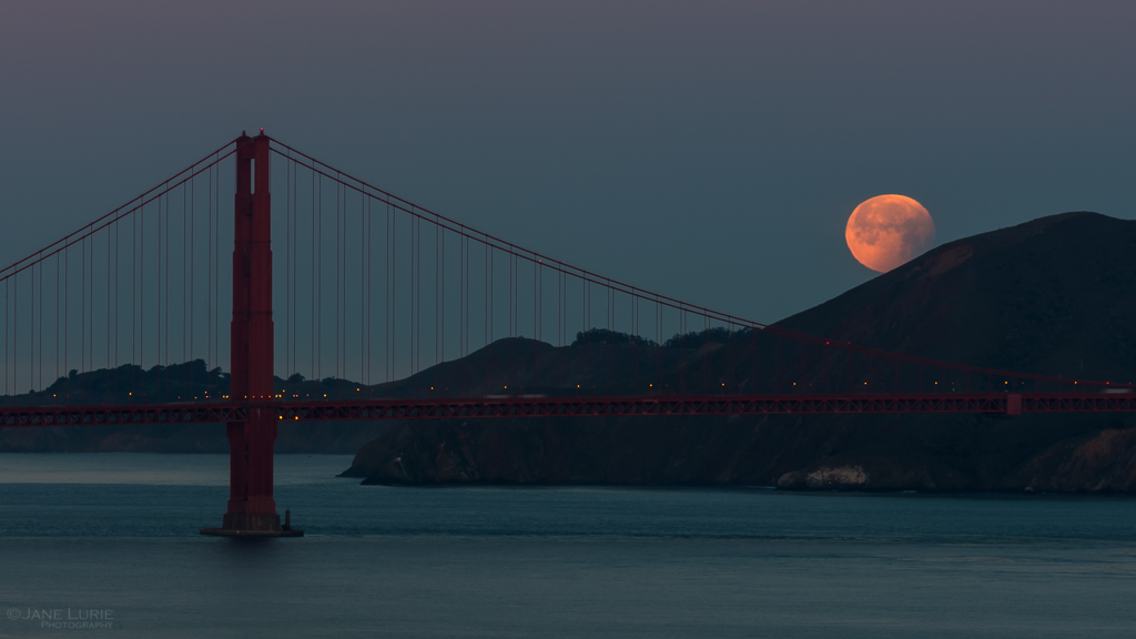 Moonstruck in San Francisco