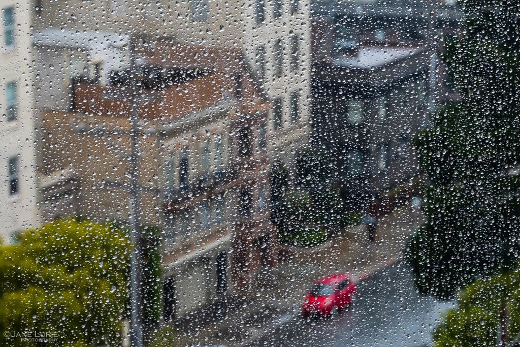 Photography, Abstract, FujifilmXT2, San Francisco, Rain, Window, City, Architecture