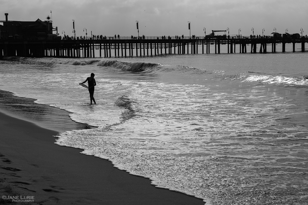 iPhone, Landscape, Monochrome, Photography, California, Ocean, Black and White,