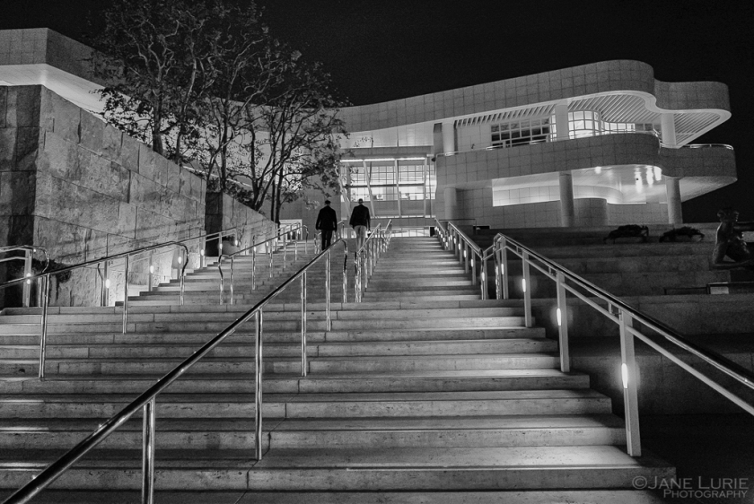 Night Photography, Los Angeles, Architecture, Monochrome, Black and White