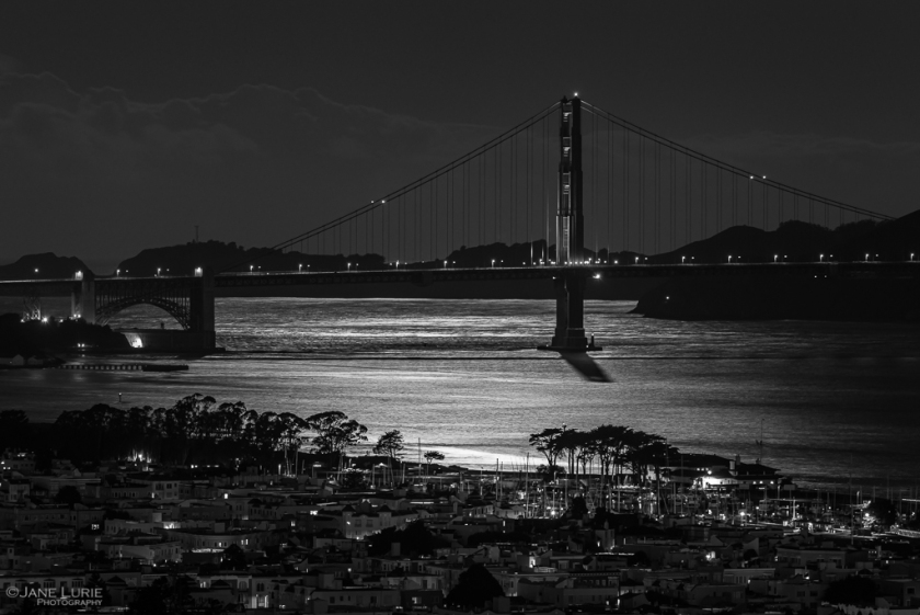 Moonlit Bay, San Francisco