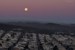 Landscape Photography, Fujifilm X-T2, San Francisco, California, Moon, Sunrise, Sunset