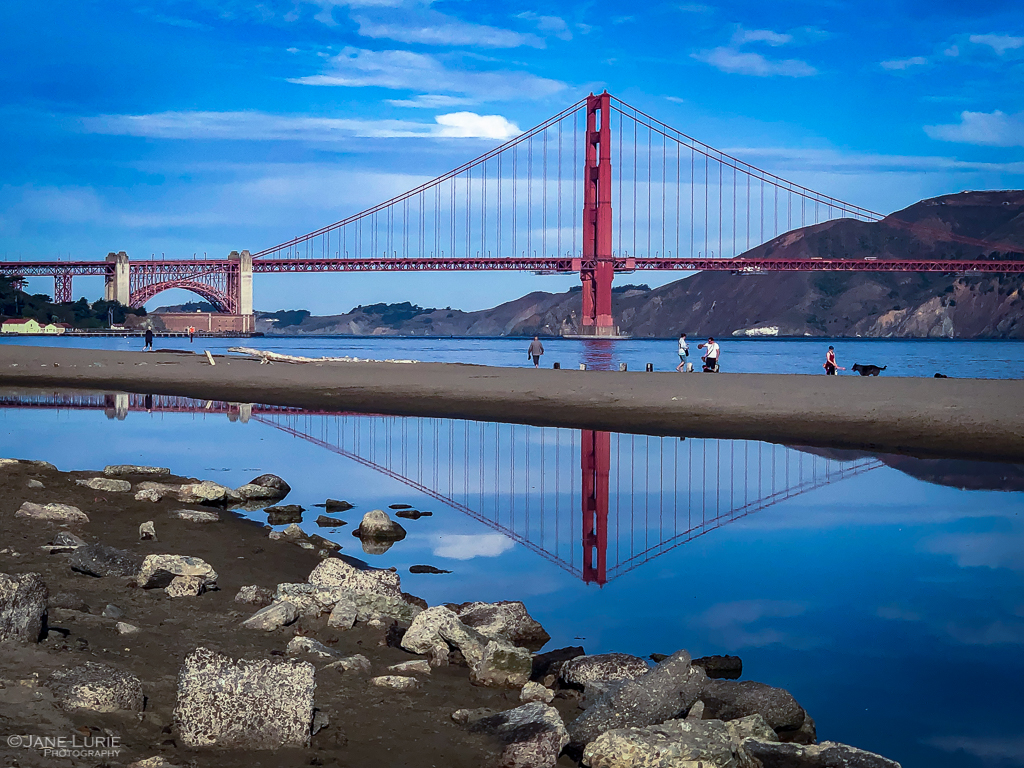 San Francisco, Golden Gate Bridge, Inspiration, Reflection, Landscape, City, Night, Photography, Fujifilm X-T2,