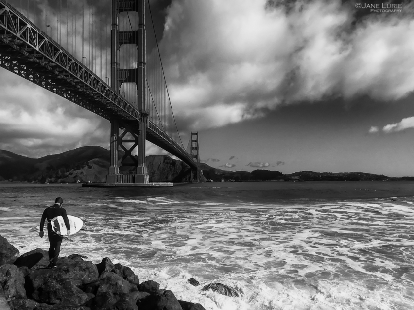 Surfer and GoldenGate