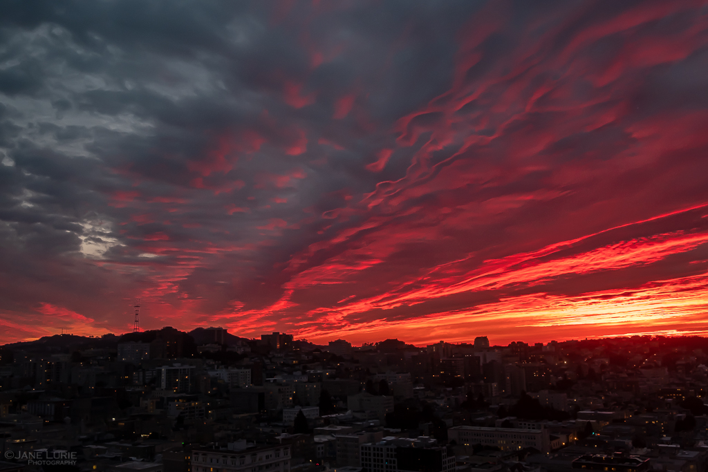 Winter Sunsets, San Francisco