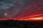Sunset, Photography, San Francisco, Silhouette, City, Fujifilm X-T2