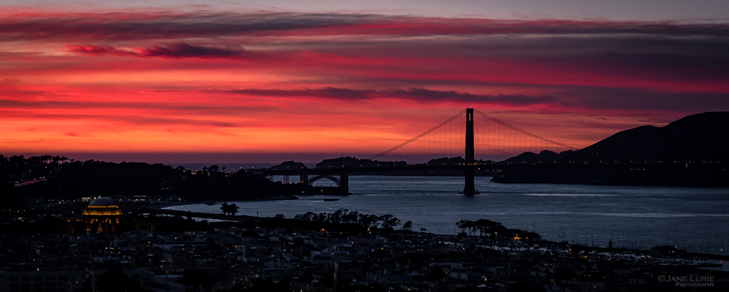 Sunset, Photography, San Francisco, Silhouette, City, Fujifilm X-T2
