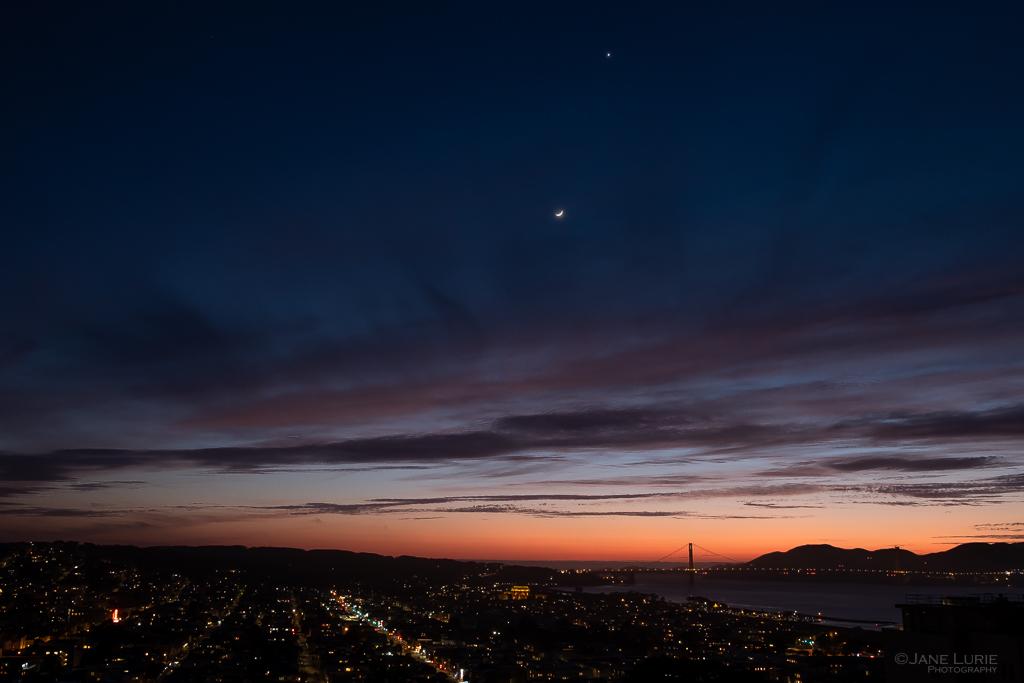 Golden Gate Bridge, San Francisco, Night, Photography