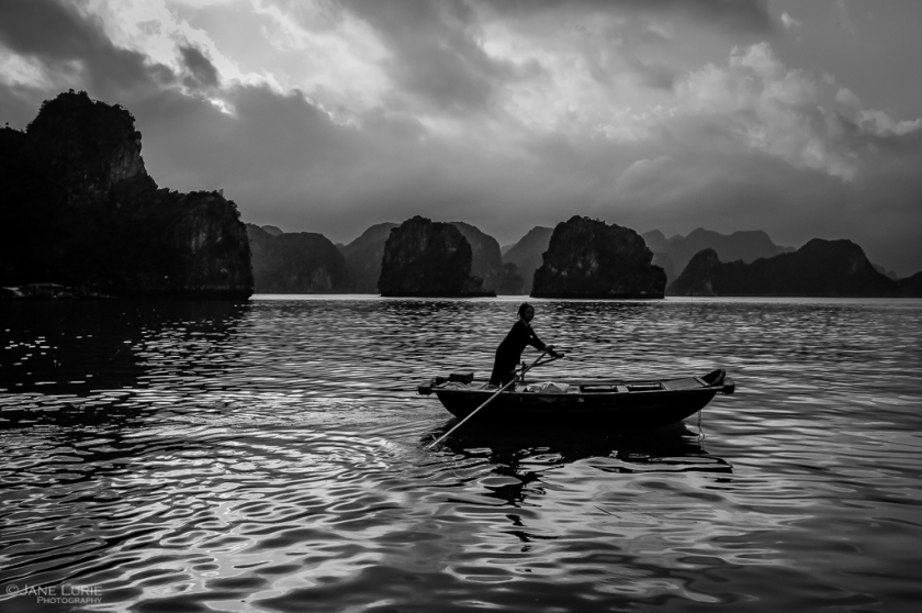 Travel, Photography, Vietnam, Black and White, Monochrome