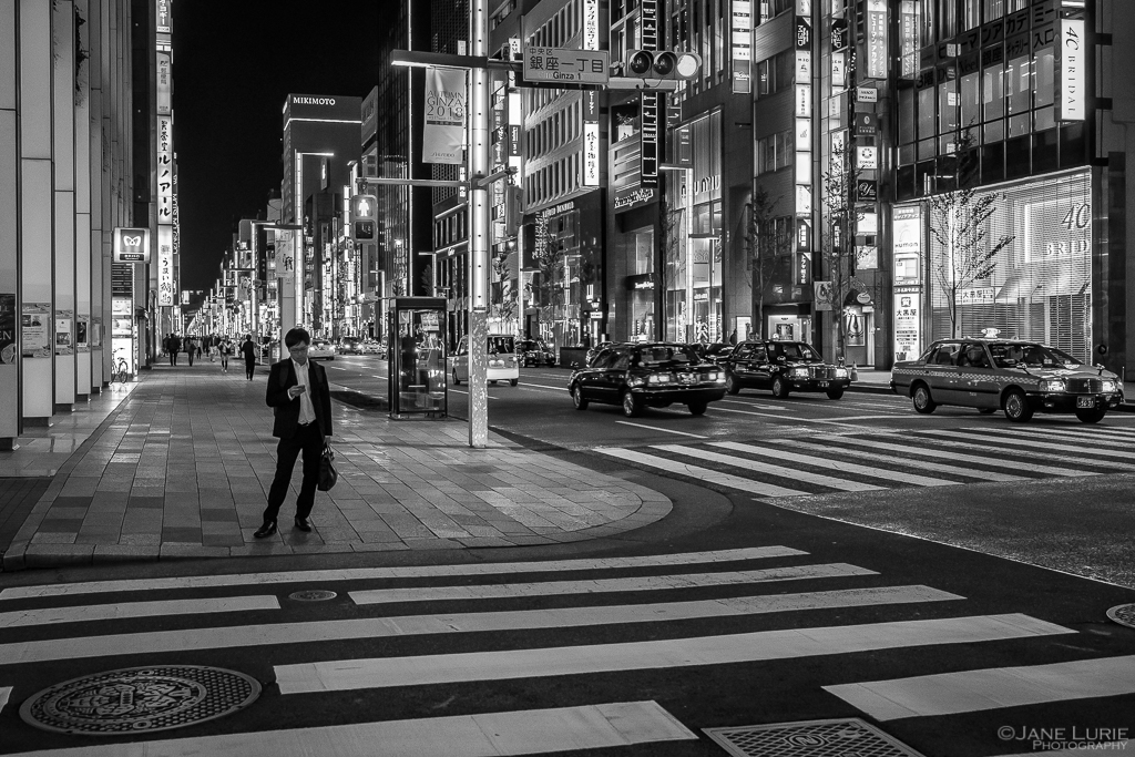 Tokyo, Japan, Fujifilm X-T2, Photography, Travel, Night Photography, Black and White